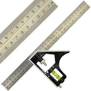 12-300mm-Combination-Square-Adjustable-Measure-Set