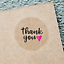 THANK-YOU-STICKERS-Clear-Envelope-Seals-Round-25-38-63mm-Wedding-Favor-labels thumbnail 5