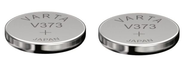 Sending Under Follow VARTA 2 Batteries Silver Oxide V373/373/SR916SW 1,55 Volt