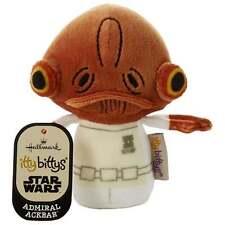 Hallmark Itty Bittys Admiral Ackbar Star Wars Plush Soft Toy New 25476591