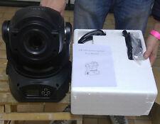 2x TESTA MOBILE SPOT LED 90W Watt RGBW 4in1 BEAM DJ LUCE DISCO NERE