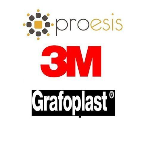 3M Grafoplast KE727019173 BL117MFFBW STECCHE MEDIE F 1 BL