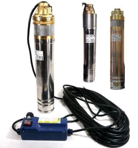 750 à 1500 w Acier Inoxydable utiliserons pompe pompe immergée pour 3 et 4 pouces 230v-400v