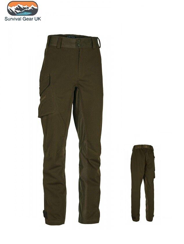 Deerhunter Deer-Tex ® Muflon Luz Stretch Trouser Impermeable a prueba de viento Arte verde