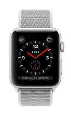 premium selection cfde7 017d4 Apple Watch Series 3 42mm Silver Aluminium Case with Seashell Sport Loop  (GPS + Cellular) - (MQK52LL/A)