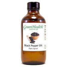 4 fl oz Black Pepper Essential Oil (100% Pure & Natural) - GreenHealth