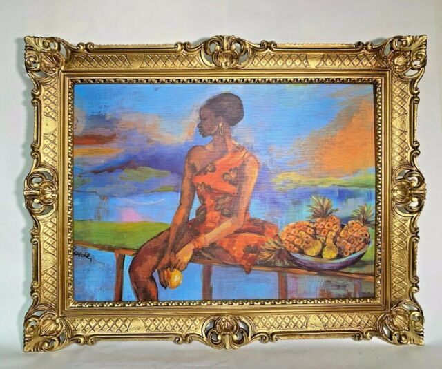 Bild DIN A4 A3 K0345 Enjoy Surf Ananas Kunstdruck Poster ungerahmt