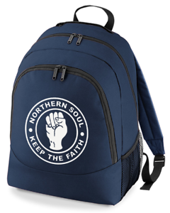 NORTHERN-SOUL-KEEP-THE-FAITH-humour-silly-BackPack-Unisex-Rucksack-Bag