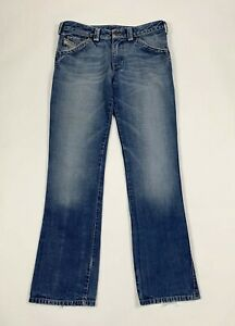 Diesel-jeans-roody-uomo-usato-W32-L34-tg-46-straight-denimblu-boyfriend-T6195