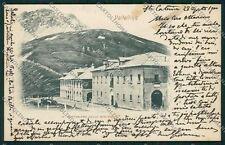 Sondrio Passo Stelvio Cantoniera cartolina QQ7537