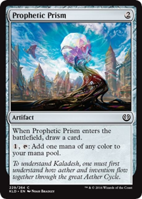 MTG Magic - (C) Kaladesh - 4x Prophetic Prism x4 - NM/M
