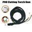 P80 plasma cutting Machine Cutting Torch Head Body 13Feet /& 4M cables Arc Gun