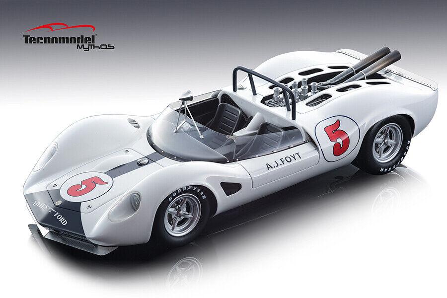 Lotus 40 Aj Foyt 1965 Riverside Gp en 1 18 Echelle par Tecnomodel