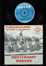ABBA - Hootenanny Singers - En Sang En Gang För Längesen - 7 Inch Vinyl - SWEDEN