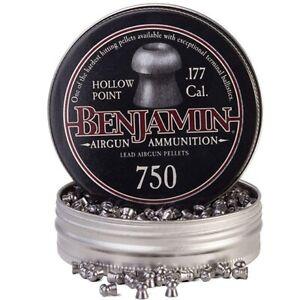 Benjamin Sheridan 14020 Hollow Point Pellets .177 Caliber 7.90 Grain (750 Pack)