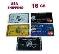 16gb Credit Card Usb Flash Drive Memory Stick Storage Office Business High-speed