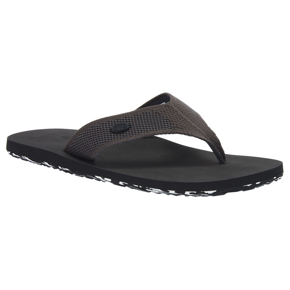 Animal New Men's Marti Flip-flop Black Bnwt