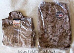 NWT-USMC-Desert-Digital-Frog-Shirt-and-Frog-Pants-COMBO-FRC-Size-LARGE-REGULAR