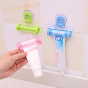 1Pc-Bad-Haken-Kunststoff-Rollrohr-Zahnpasta-Squeezer-Dispenser-Halter-Werkz-R0Z1