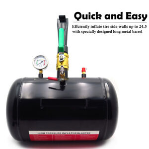 New-5-Gallon-Air-Tire-Bead-Seater-Blaster-Tool-Seating-Inflator-Truck-ATV-145PSI