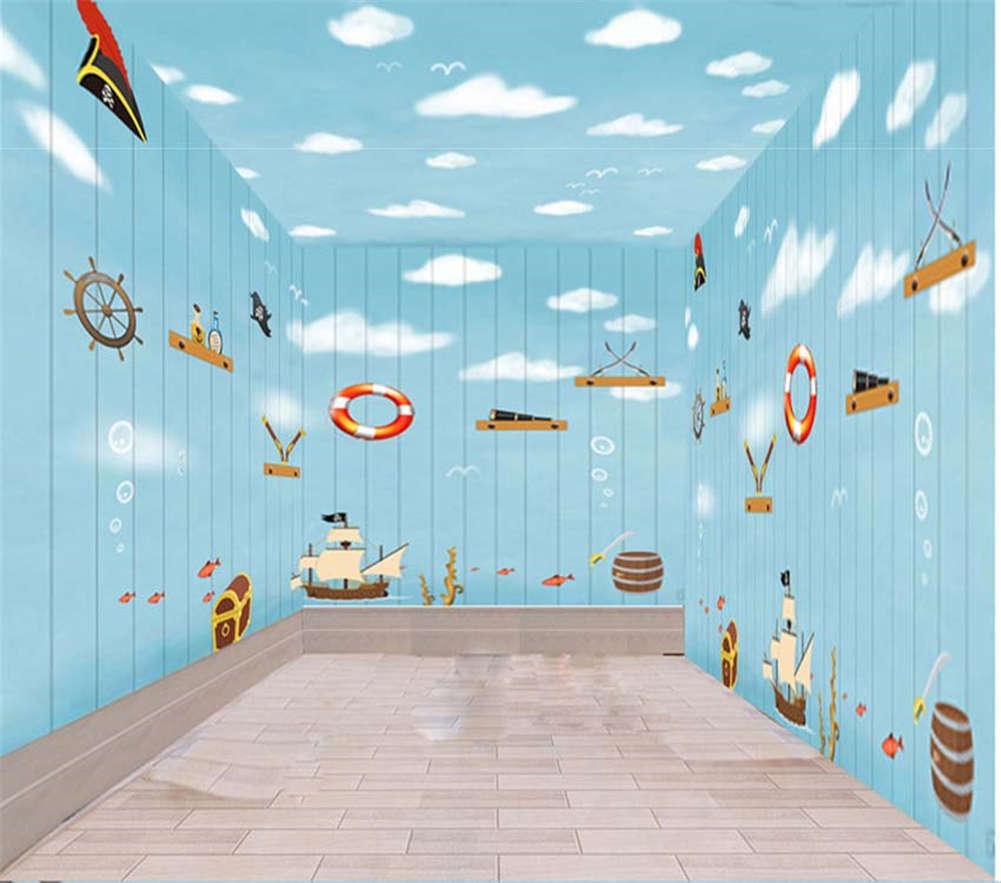The Sea Treasure Hunt 3D Full Wall Mural Photo Wallpaper Print Home Kids Decor