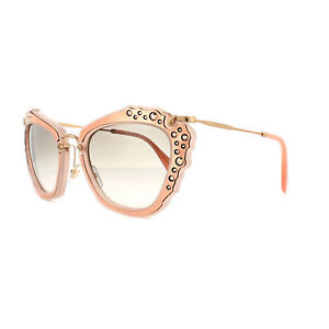 78b23440737 Miu Miu Sunglasses 04QS TV14K0 Matt Pink Grey Pink Gradient ...