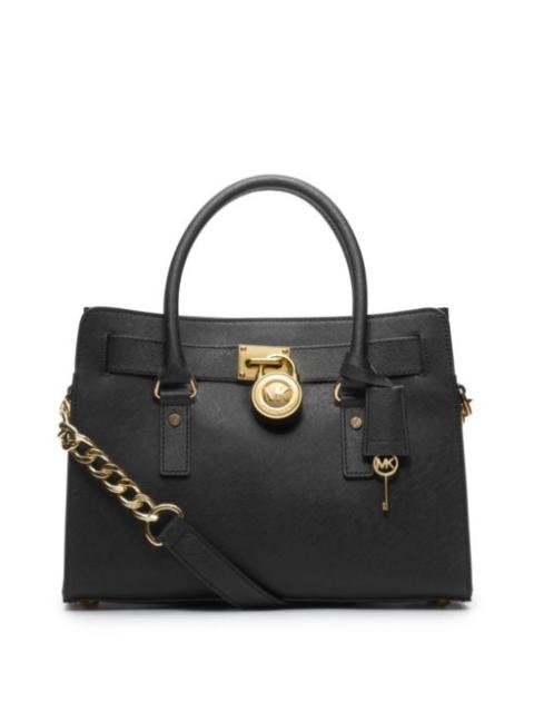 Michael Kors Hamilton Satchel Bag With