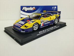Slot-Car-Scalextric-Flyslot-Ref-049101-F40-Lm-44-24h-Le-Mans-1996