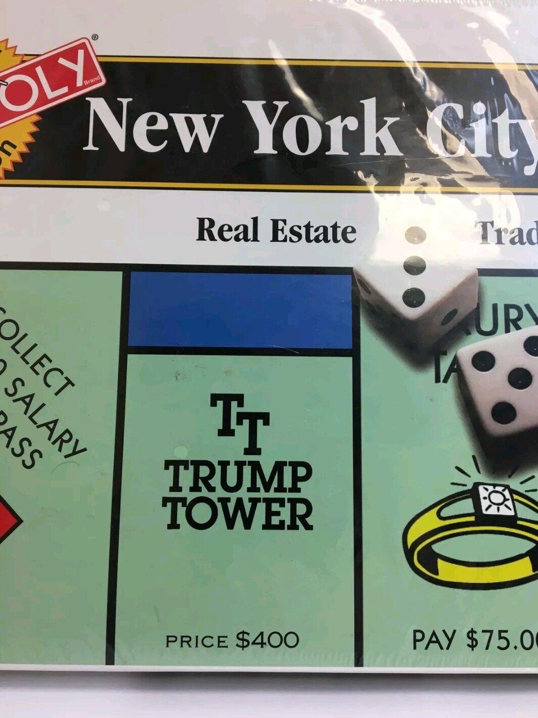 Monopoly nuovo York  città 1995 edizione - nuovo in scatola  per il commercio all'ingrosso
