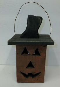 Hearthside-Collection-Wooden-Halloween-Jack-O-Lantern-Birdhouse-Decor