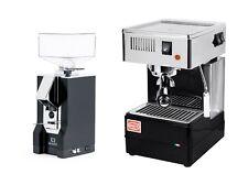 Quickmill 820 Thermoblock Espresso Machine Amp Eureka Silenzio Grinder Black Combo