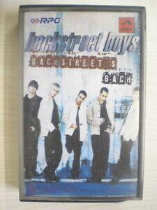 BACKSTREET-BOYS-BACK-RARE-CASSETTE-INDIA-Aug-1999