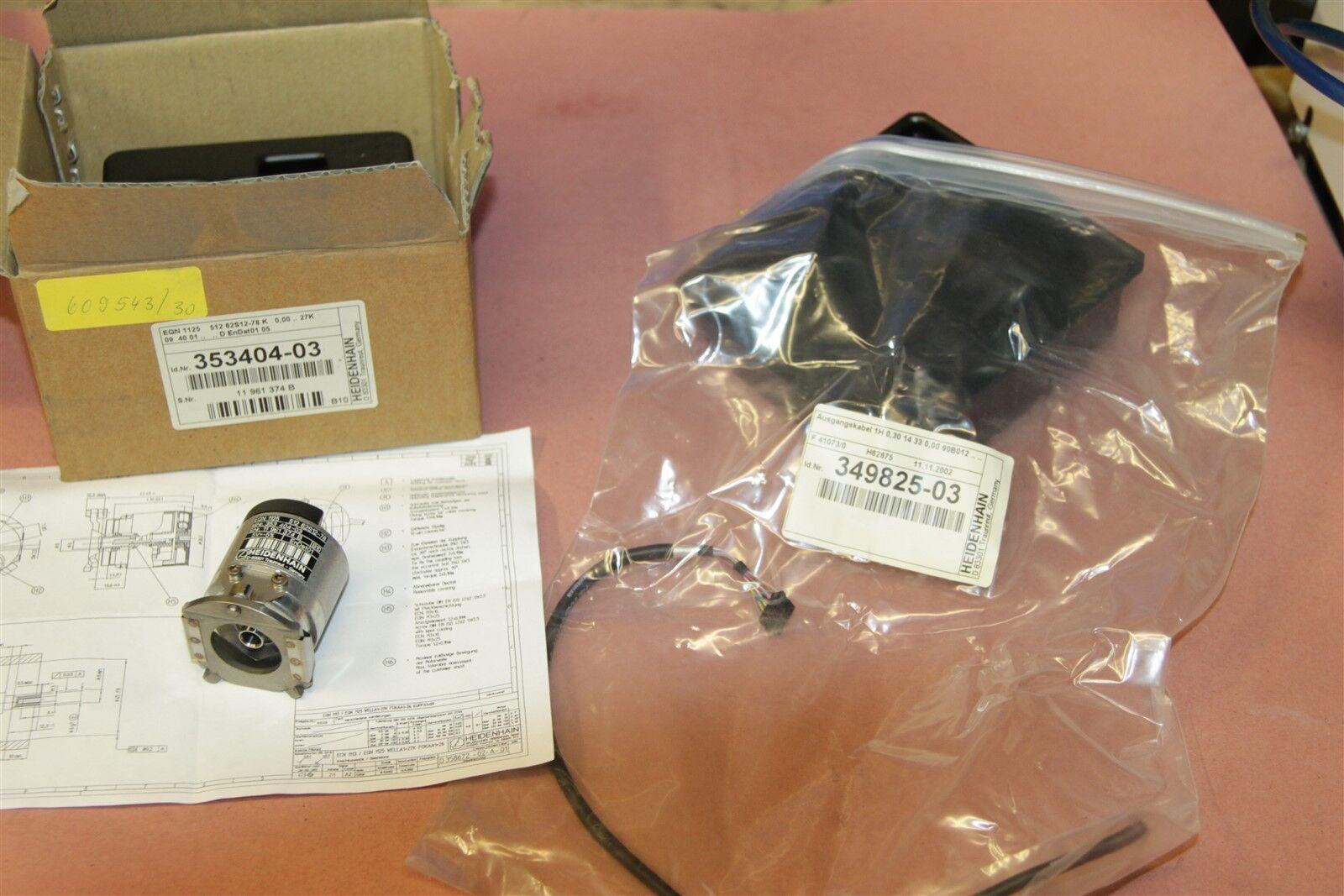 Pleasing Heidenhain 353404 03 Servo Motor Encoder With Wiring Harness 349825 Wiring 101 Photwellnesstrialsorg