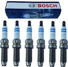 Set of 6 Bosch ZGR6STE2 Spark Plugs, fits BMW E60 E90 E92 E93 135i 335i 535i