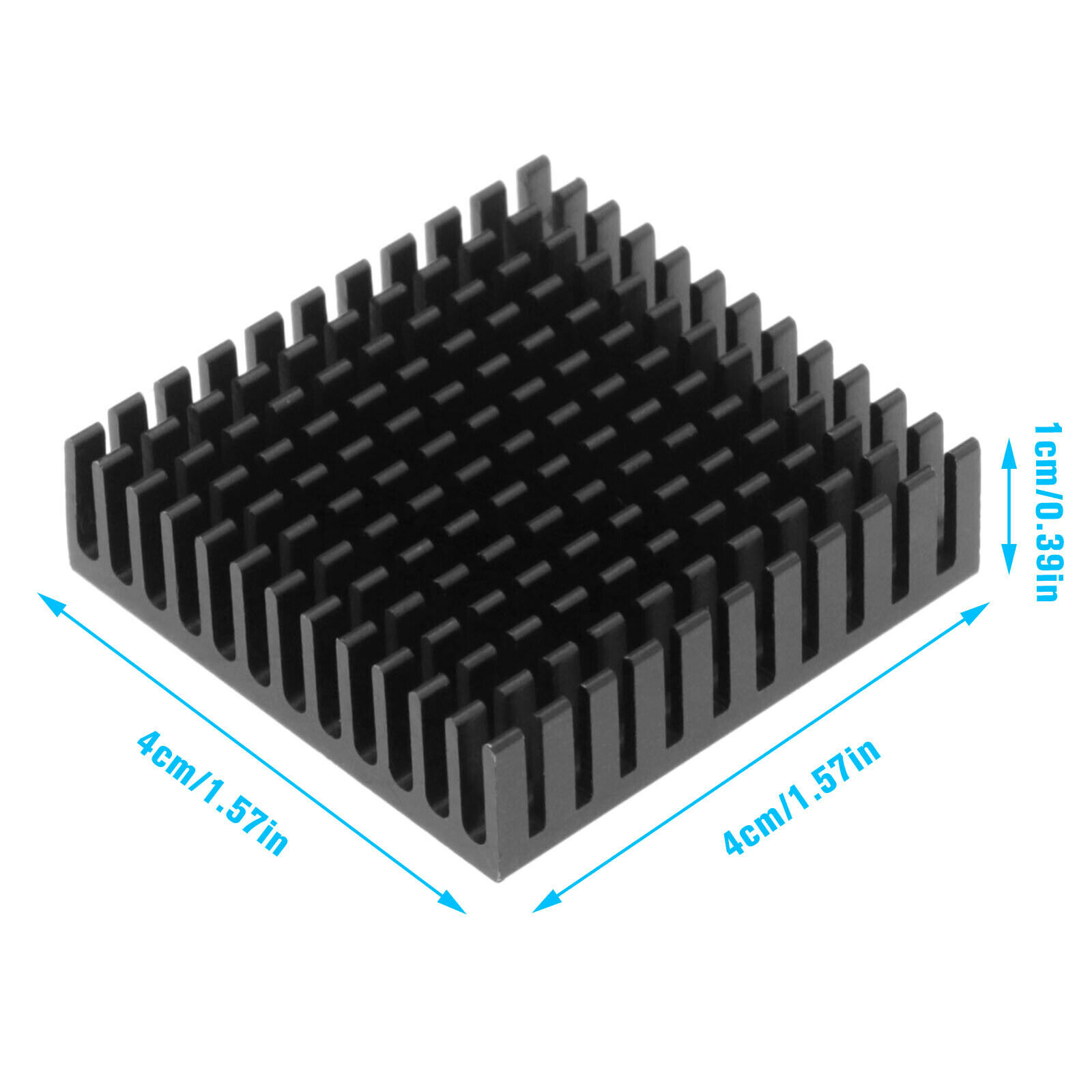 3Pcs Shock Absorber Damper Heatsink for Nema17 3D Printer Stepper Motor