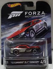 2012 chevy camaro zl1 Xbox forza 1:64 Hot Wheels retro Entertainment djf52