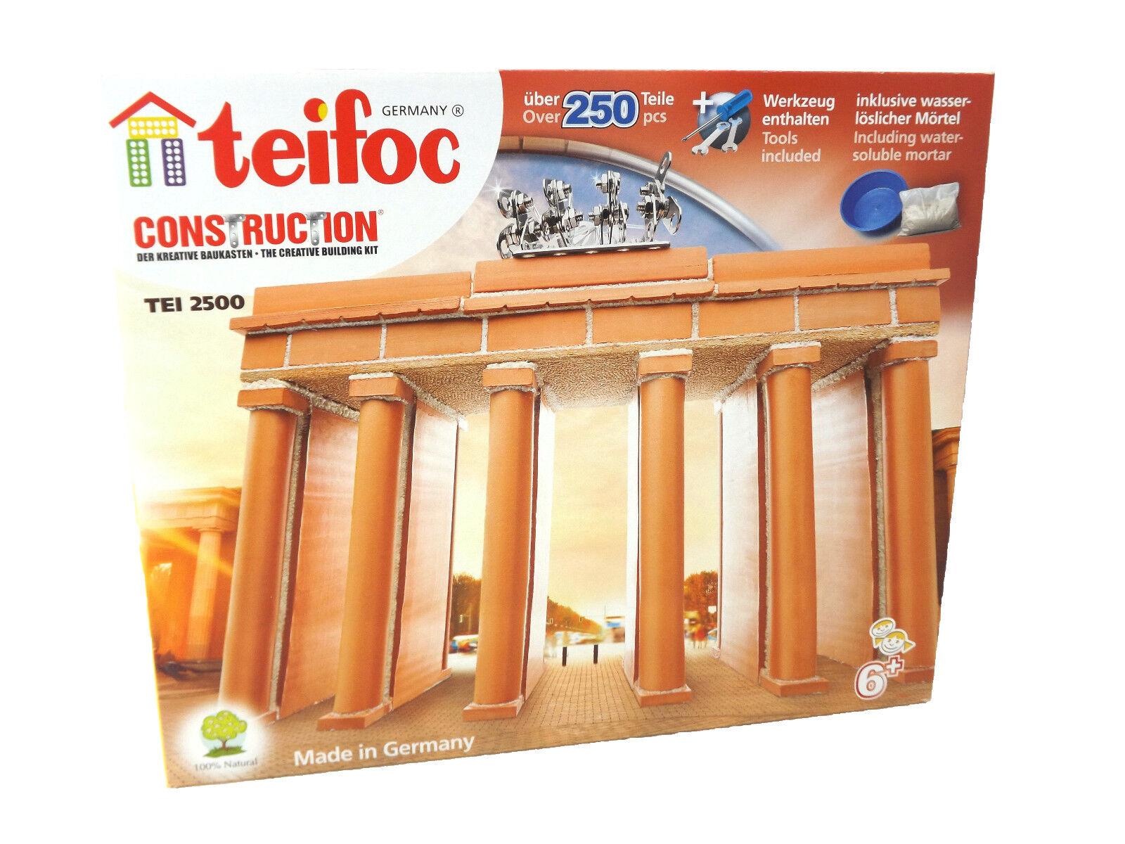 Eitech Teifoc 2500 Brandenburger Tor Selbstbauen Echte Ziegelsteine Mörtel