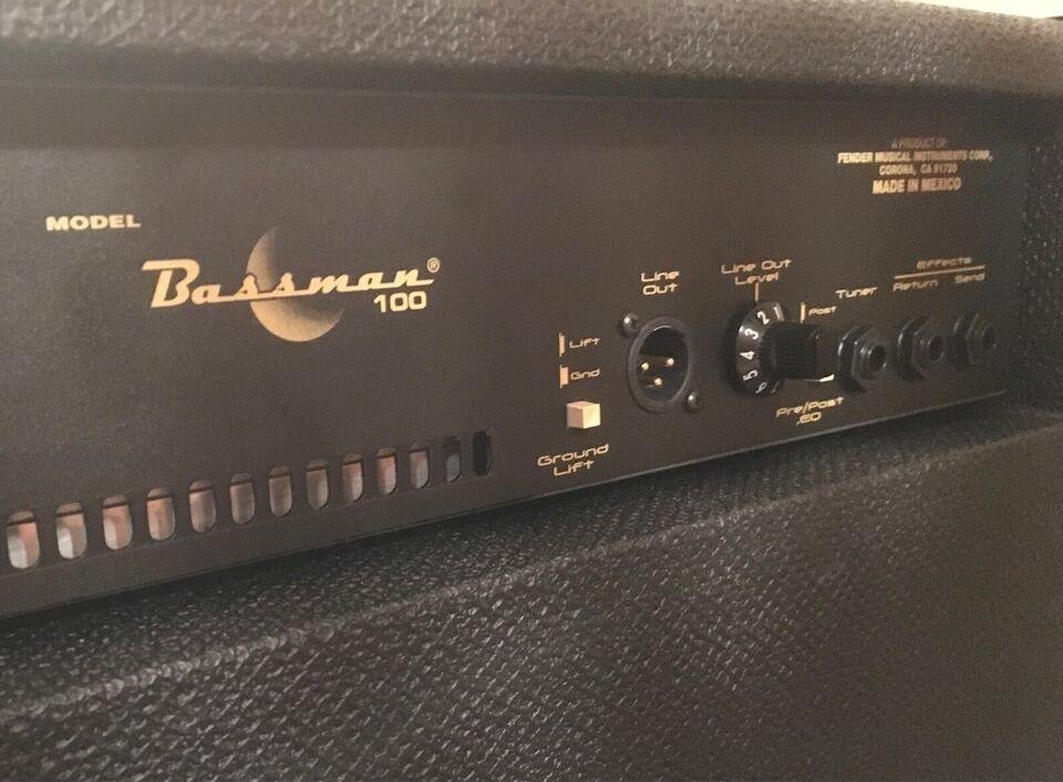 Bascombo, Fender Bassman 100 - Giv et bud!, 360 W