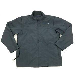 NEW AYE Gear J25 Travel Jacket Mens 3XL XXXL Media Pockets Blue Convertible Vest