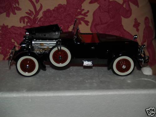 Danbury como nuevo 1927 Stutz negro Hawk COCHE Menta en Caja Impecable