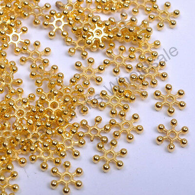Silver & Golden FLOWER DAISY Loose Spacer BEADS - Choose 6MM 8MM 10MM Wholesale