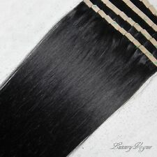 40pcs 100% Human Hair 3M Tape-in Extensions Remy #1B by Lux_Vogue