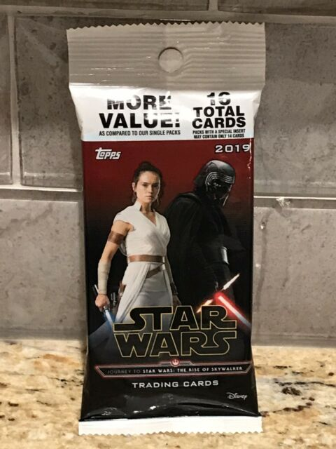 2019 Topps Journey Star Wars Rise Of Skywalker HOT PACK WITH BONUS HOLOFOIL CARD
