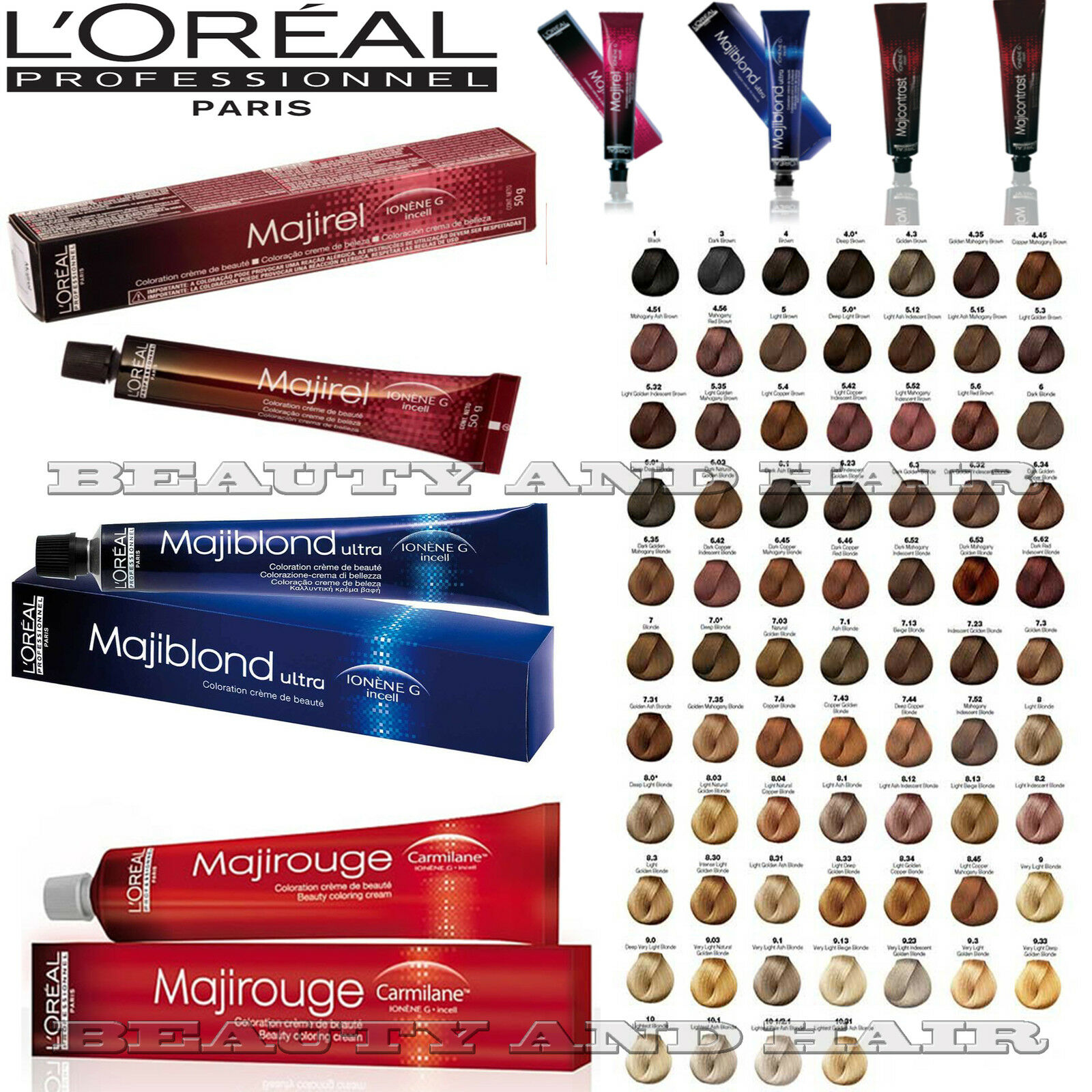 Majirel colour chart - Sell It Yourself Details About La Girl Pro Hd Bb Cream Prime Moisturize Enhance You Choose Shade Uk Seller