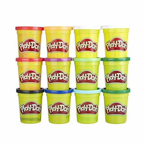 Details about  /Play-Doh Bulk Winter Colors 12-Pack of Non-Toxic Modeling Compound 4-Ounce Cans