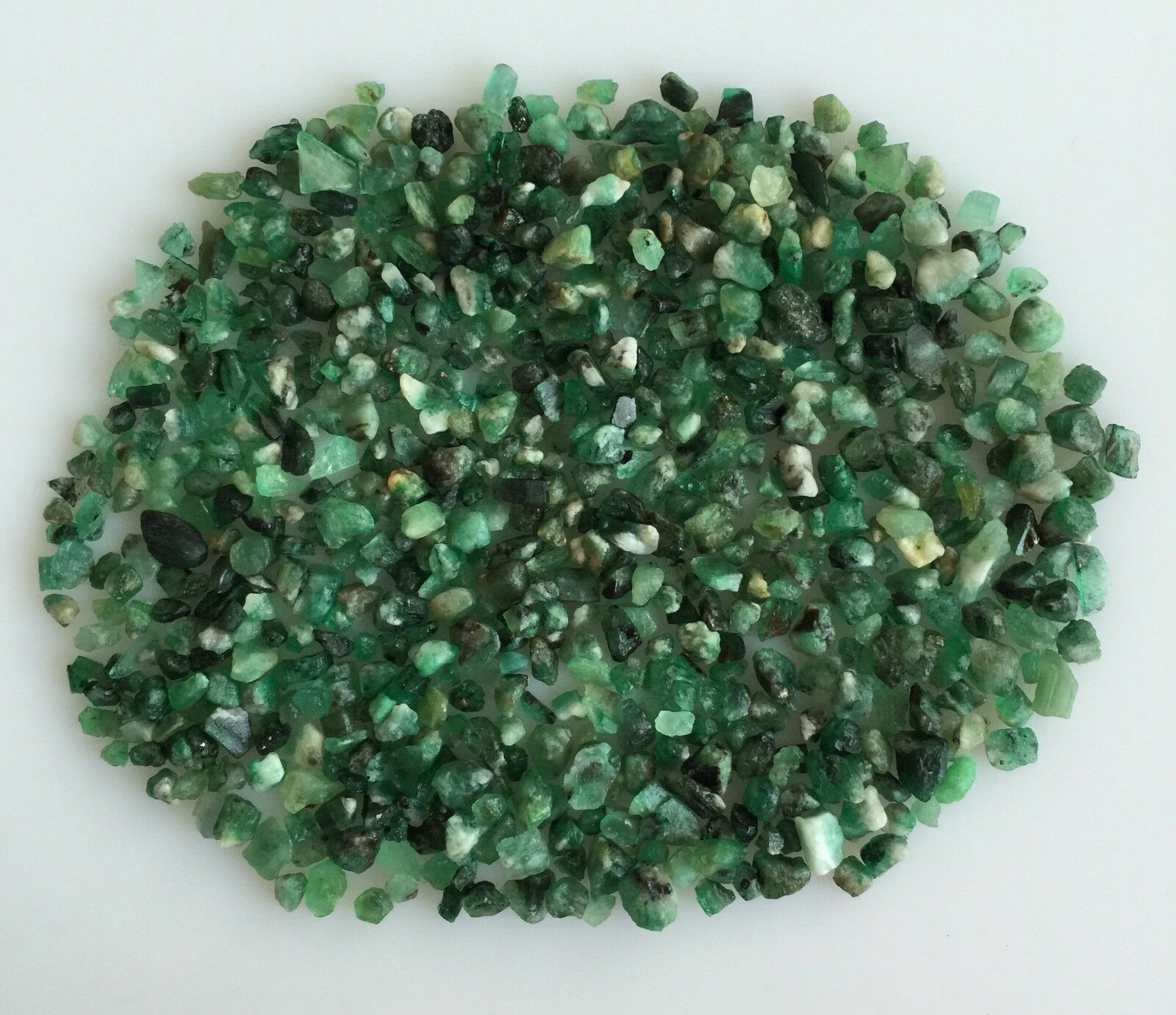 100CT SCOOP NATURAL EMERALD GREEN ROUGH EDELSTEIN LOSE MINERAL LOT RAW WHOLESALE