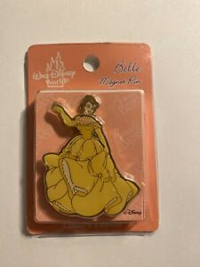 WDW-Belle-Princess-Series-Beauty-And-The-Beast-Magnet-Disney-Pin-B