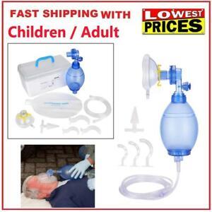 Manual-Resuscitator-PVC-Child-Ambu-Bag-Oxygen-Tube-First-Aid-kit-Profession