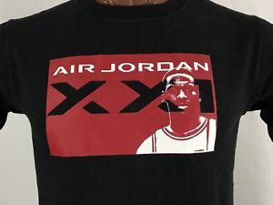 ae59fe9cc569 Nike Air Jordan Black Graphic T Shirt 100% Cotton Youth XL Men s M ...