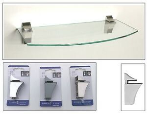 Glasregal-36x16cm-Klarglas-gerundet-Clip-ECO-in-3-Farben-Wandregal-Ablage-Board